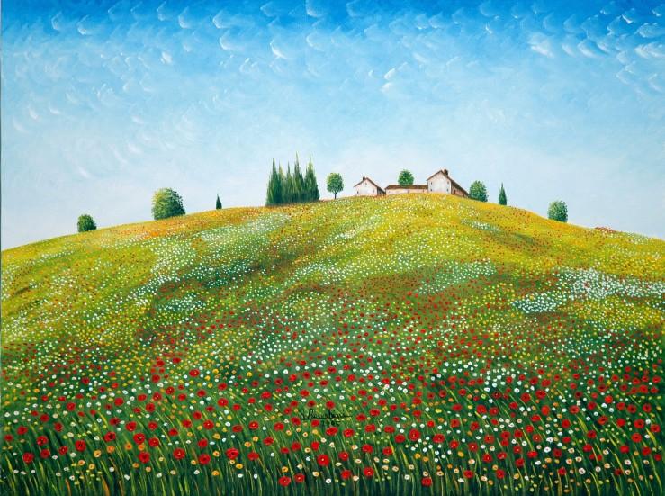 Luce e colori della primavera maestro roberto bernabini for Case di campagna della collina del texas