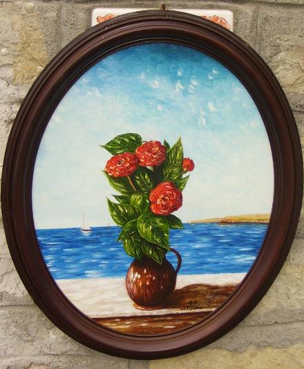 Pittura ad olio maestro roberto bernabini for Dipinti ad olio fiori